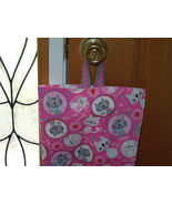 Plastic Grocery Bag Holder Organizer Pink White Gray Cat Large Size Hold... - $11.00