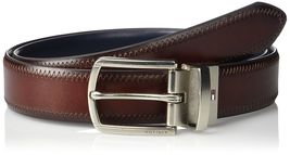 Tommy Hilfiger Men's Reversible Feathered Edge Stitched Leather Belt 11TL02X188 image 6