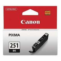 Canon 6513B001 (CLI-251) Black Ink Cartridge For PIXMA iP7220 iP7250 iP8720 - $25.69