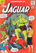 Adventures of the Jaguar #7 VG; Radio | low grade comic - save on shippi... - $10.99