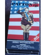 Patton - George C. Scott, Karl Malden - CBS Fox TV - Gently Used VHS Video - $9.89