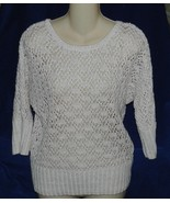 United States Sweater Size Medium Loose Knit Batwing Style - $18.99