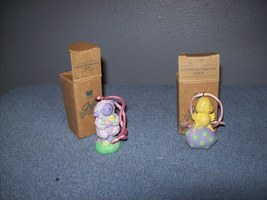 set of 2 Avon Easter ornaments - $5.99