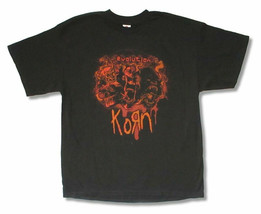Korn-Evolution 2009 Tour-XL Black T-shirt - $19.34