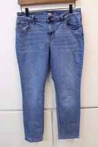 W11994 Womens OLD NAVY stretch denim straight JEANS cotton/poly/spandex,... - $12.60