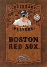 2005 donruss boston red soxs wade boggs serial # 334/800 - $2.50
