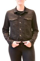 Diesel Women's Denim Gioen-R Long Sleeve Jacket Black Size XS RRP £240 B... - $221.62