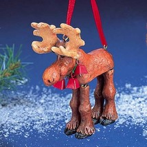 Moose with Dangle Legs Ornament - $14.95