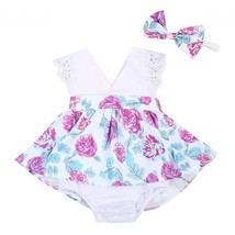Family Matching Outfits Infant Baby Girls Lace Floral  Little Big Sister - $11.18+