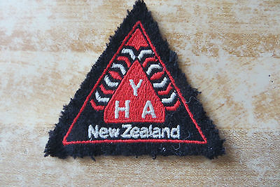 Y.H.A.Youth Hostel Association New Zealand 1970's vintage collectible patch