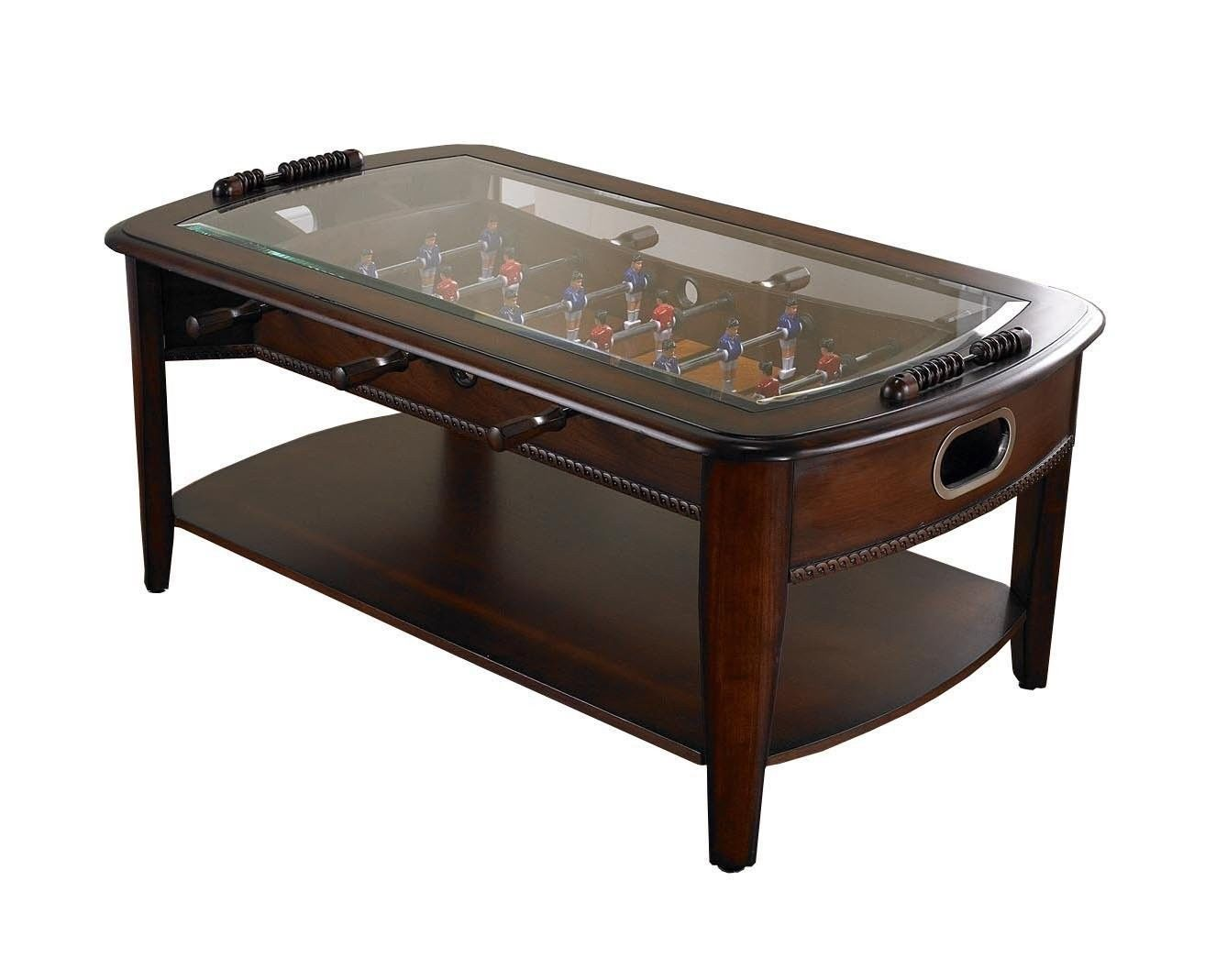 Foosball Coffee Table Game Room Sports Man Arcade Soccer Football Basketball New Tables