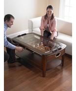 Foosball Coffee Table Game Room Sports Man Arcade Soccer Football Basket... - $597.86