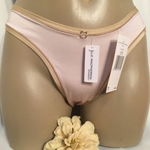 Elle Macpherson Pink & Nude Prism Thong Panty NEW L Large - $14.95