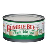 Bumble Bee Chunk Light Tuna in Water, 12 oz Can Three cans - $12.00