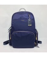 Brand New Tumi Voyageur Calais Backpack Navy Blue 484707 - $265.00