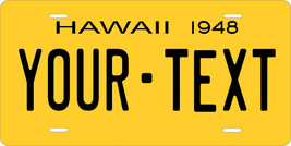 Hawaii 1948 License Plate Personalized Custom Auto Bike Motorcycle Moped Key Tag - $10.99+