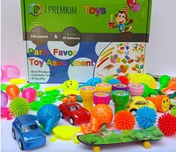 I Premium Party Favor Toy Assortment In Big 120 Pack Party Favors For Ki... - £22.56 GBP