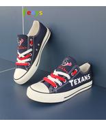 Houston Texans shoes Texans sneakers Fashion Christmas gift birthday gif... - $59.99