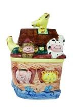 Express Productions SS ARK Noah's Ark Ceramic Cookie Jar Candy Jar Biblical - $12.99