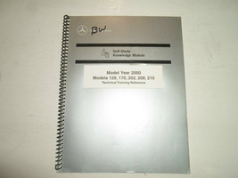2000 Mercedes Benz 129 170 202 208 210 Technical Training Reference Manu... - $20.76