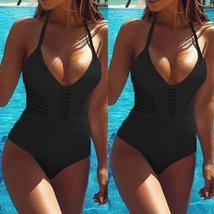 Fashion Womens One-piece Swimsuit Swimwear Push Up Monokini Bathing Suit Bikini image 11