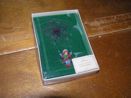 Vintage Hallmark 1981 Star Swing Christmas Tree Ornament in Original Box – 3.75  - $8.59