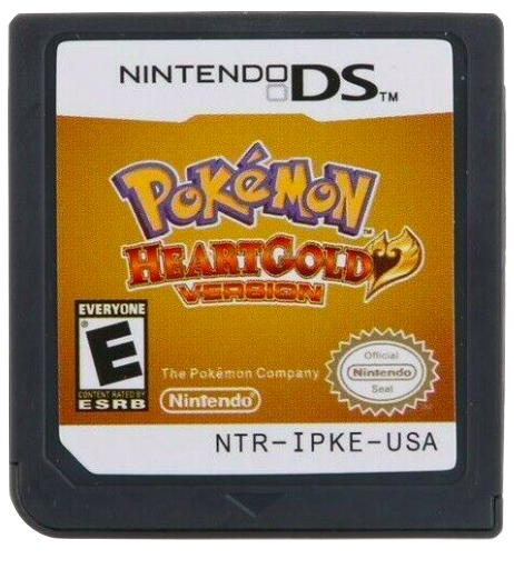 Primary image for Pokemon HeartGold 3DS USA English Version Free Shipping USA Seller