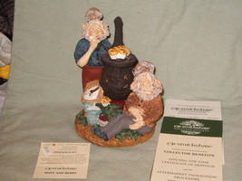 VINTAGE CP SMITHSHIRE 7317-000  MUFF AND BERRY GNOME NIB - $24.00