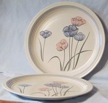 Baker Hart & Stuart Pair of Chop Plates, Joy Pattern - $29.69