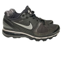 Womens Nike Air Max 360 Running Shoes Black Gray 386374 004 US 7 EUR 38 EUC 2010 - $54.93