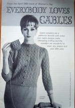 Vintage Everybody Loves Cables Booklet 1963 - $3.99