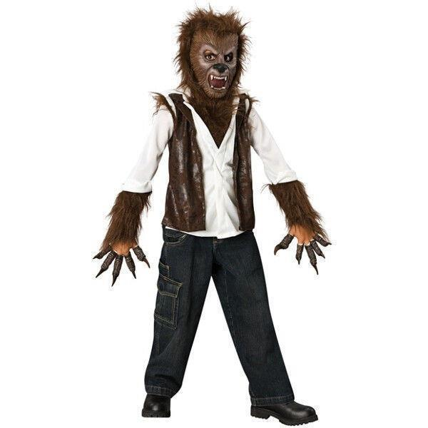 Deluxe Child The Wolfman Werewolf Halloween Costume Large Free Shipping
