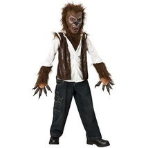 Deluxe Child The Wolfman Werewolf Halloween Costume Large Free Shipping - £28.42 GBP