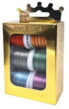 Madeira Anniversary Crown Box Polyneon 40 Multicolor Embroidery Thread - $25.16