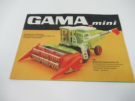 Gama Toys Mini Catalog Product Brochure 2002 Cars Construction Vehicles ... - $9.74