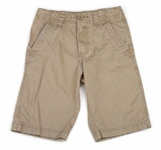 FADED GLORY Beige Tan Boys Cotton Chino Shorts 8 - $7.91