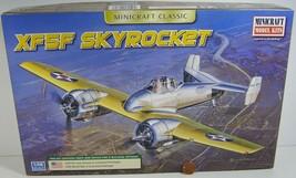 Minicraft XF5F Skyrocket Model Plane 11660 1:48  2011 - $29.99