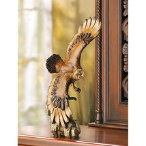 Majestic Soaring Eagle Stunning Detailed Figurine Statue - $32.95