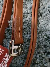 "BT Crump Leather Stirrup Leathers Dark London 64"" image 1"