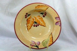 Home Fall Leaves Rimmed Soup Bowl - $4.84