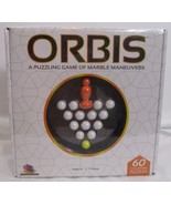 ORBIS - A PUZZLING GAME OF MARBLE MANEUVERS EDUCATIONAL BRAINWRIGHT GAMES - $15.82