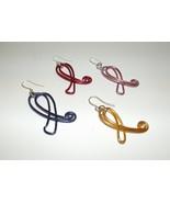 Awareness Ribbon Earrings - $16.00