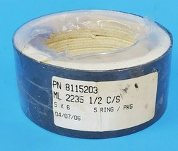 NEW GENERIC ML 2235 1/2 C/S 5X6 MECHANICAL PACKING, P/N: 8115203, PACK OF 5