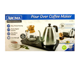 Aroma Professional Pour Over Coffee Maker Set with Carafe and Reusable F... - €89,16 EUR