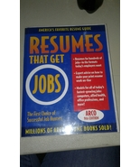 Resumes That Get Jobs 9th Edition by Arco MILL013 - $3.00