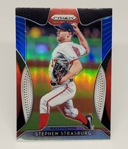MLB STEPHEN STRASBURG WASHINGTON NATIONALS 2019 PANINI PRIZM REFRACTOR #... - $1.79