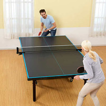 MD Sports Official Size 2-piece Table Tennis Table With Table Cover - $587.42