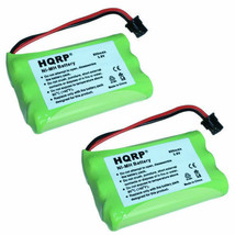 2x HQRP Cordless Phone Battery for Uniden BT-909 BT909 BT-1001 BT1001 BT1004 - $14.45