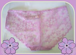 M L XL Lilac Victorias Secret NoShow FULL Back Floral Daisy Lace Hiphugg... - $10.99