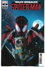 MILES MORALES SPIDER-MAN #18 RAHZZAH BABY MORALES (Priority Mail Shipping)  - $12.00
